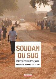 Soudan - Reporters sans frontières