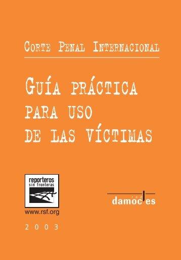 Guía práctica para uso de las víctimas - Reporters Without Borders