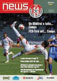 FCS News Ausgabe September - FC Südtirol