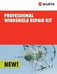 PROFESSIONAL WINDSHIELD REPAIR KIT - Wurth USA