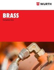 Brass Pipe Fittings - Wurth USA