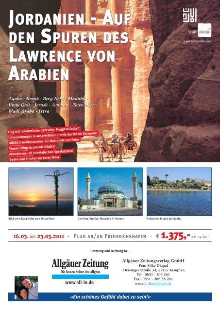 JORDANIEN - AUF DEN SPUREN DES LAWRENCE VON ARABIEN