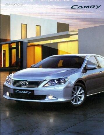 Microsoft Word - camry_catalog_2012 - Toyota Lanka
