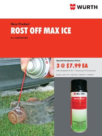 ROST OFF MAX ICE