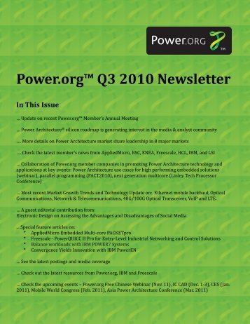 Power.org Q3 2010 Newsletter v3