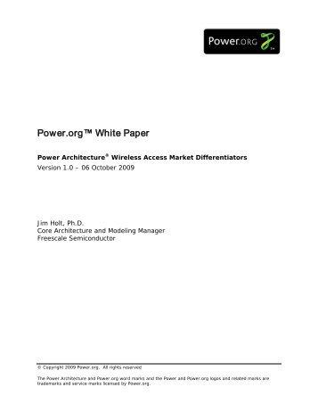 Wireless Access - Power.org