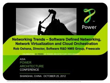 Networking Trends – Software Defined Networking ... - Power.org