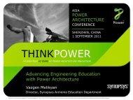 Synopsys University Program - Power.org