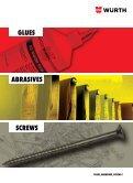 GLUES ABRASIVES SCREWS - Wurth - Page 3