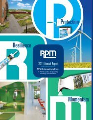 Resilience Protection Momentum - RPM, Inc.
