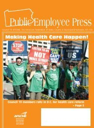 AFS PEP News - July Aug 07 - AFSCME Council 13