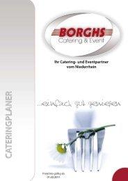 ...einfach gut genießen - Catering Borghs