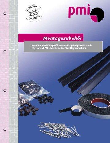 Montagezubehör - PMI-Plast GmbH
