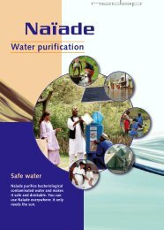 Naïade Solar Water Purification Unit