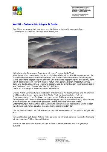 Wellfit - Balance für Körper & Seele