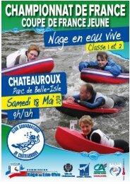 Club subaquatique de Châteauroux www ... - Nage en Eau Vive