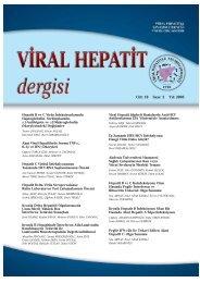 Viral Hepatit 2005 Dergisi-2 - VHSD