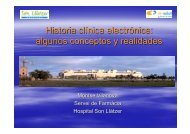 Historia clínica electrónica: algunos conceptos y realidades