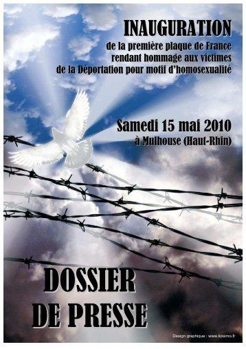 DP inauguration plaque 15 mai 2010 à Mulhouse - La France Gaie ...