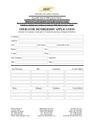 Membership Application with Logo for Web - Operator - HAC