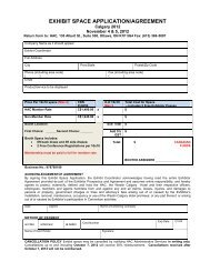 exhibit space application/agreement - Helicopter Association of ...