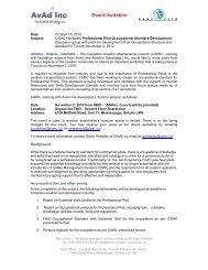 November 2 Meeting Invitation