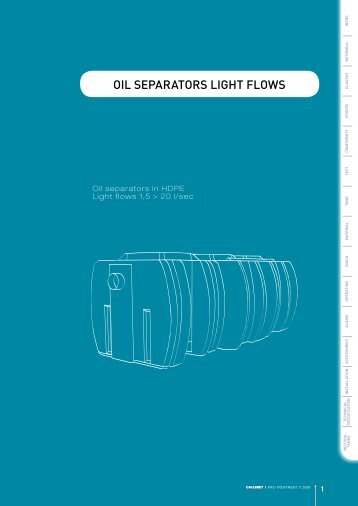 OIL SEPARATORS LIGHT FLOWS