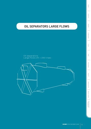 OIL SEPARATORS LARGE FLOWS