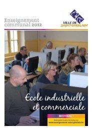 Ecole industrielle et commerciale - Saint-Ghislain