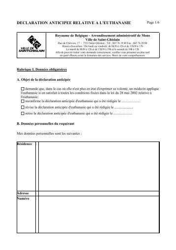 Formulaire de d claration de changement d 39 exploitant uccle for Formulaire cerfa 13703