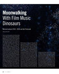Moonwalking With Filmmusic Dinosaurs - Tobias van de Locht