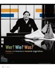 Ingfried Hoffmann - Tobias van de Locht