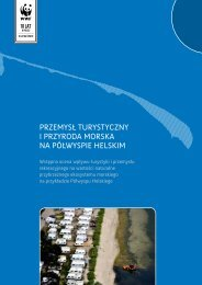 przemysł turystyczny i przyroda morska na półwyspie helskim - WWF