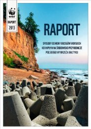 Sposoby ochrony brzegów morskich i ich wpływ na ... - WWF