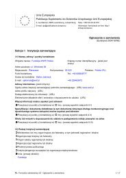 Unia Europejska Publikacja Suplementu do Dziennika ... - WWF