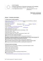 Unia Europejska Publikacja Suplementu do Dziennika ... - Drwal