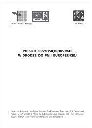 polskie przedsiębiorstwo w drodze do unii europejskiej - Lubelska ...