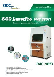 GCC FMC280Z1 fiber laser