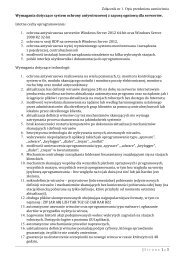 Załącznik nr 1. Opis przedmiotu zamówienia | 1 3 Strona z ...