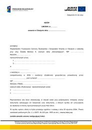 Załącznik nr 4 b - BIP Wojewódzki Fundusz Ochrony Środowiska i ...