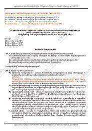 opracowanie na zlecenie OBPON: Małgorzata ... - ZPCHR.info