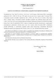 Uchwa•a Nr XXVI/285/2012 z dnia 28 grudnia 2012 r. - Urząd Gminy ...