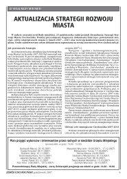 Aktualizacja Strategii Rozwoju Ciechocinka - Ciechocinek.pl