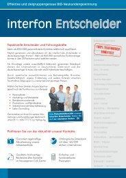 interfon Entscheider DACH - interfon adress