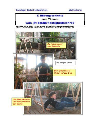 statik und elementare festigkeitslehre prof popov ws 2008 09. Black Bedroom Furniture Sets. Home Design Ideas