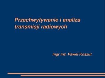 Przechwytywanie i analiza transmisji radiowych - cygnus