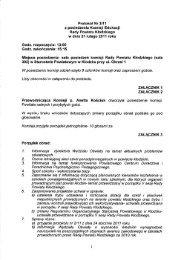 Protokół Nr 3I11 z posiedzenia Komisji Edukacji Rady Powiatu ...