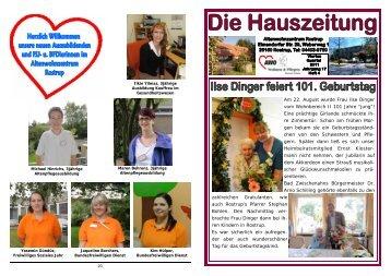 Heft 4/2011 - AWO Bezirksverband Weser-Ems