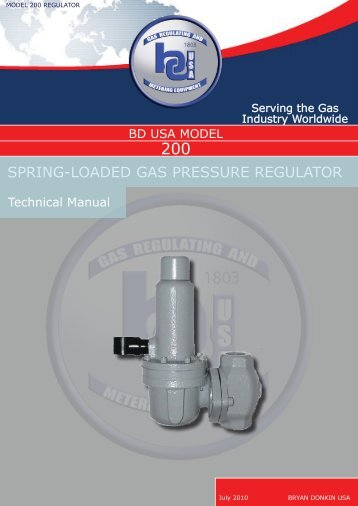Download 200 Technical Brochure - Bryan Donkin USA