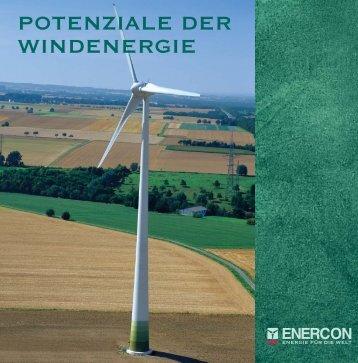 Potenziale der Windenergie (ca. 1 MB)
